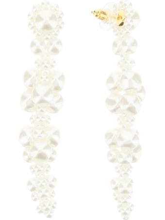 Simone Rocha Cluster Drip Earrings