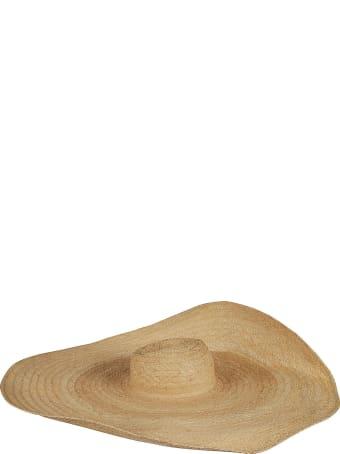 Ruslan Baginskiy Wide Woven Hat