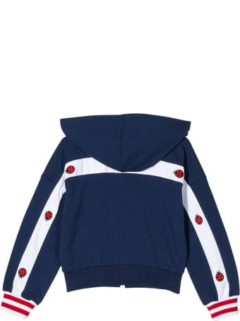 Monnalisa Blue Sweatshirt