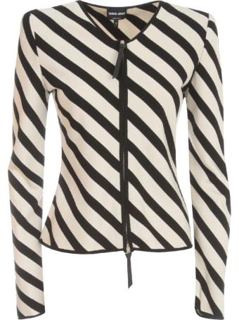 Giorgio Armani Striped Jacket
