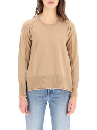 Stella McCartney Asymmetrical Crew Neck Sweater