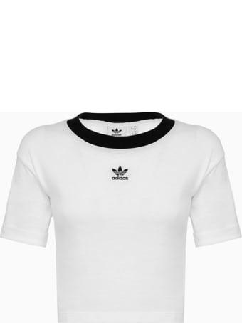 Adidas Originals Adidas Original Crop T-shirt Fm2556