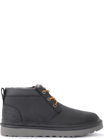 UGG Neumel Boot In Black Full Grain Leather