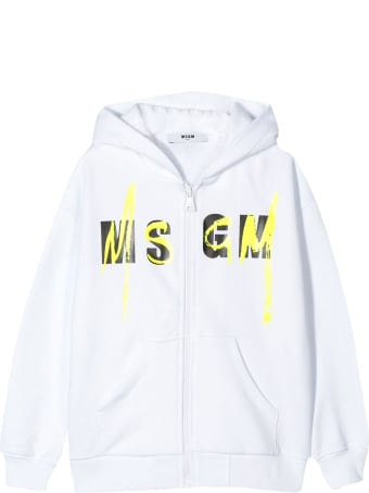 MSGM Kids Sweatshirt With Zip