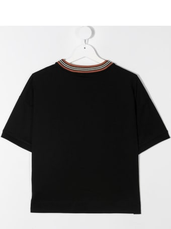Burberry Black Jersey Cake T-shirt
