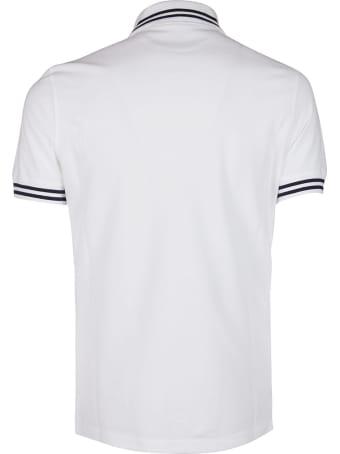 Brunello Cucinelli White Cotton Polo Shirt