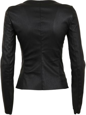 DROMe Slim-fit Zipped Jacket