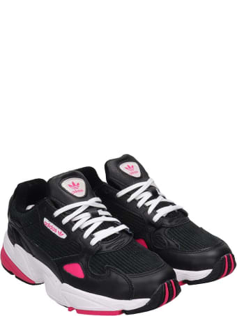 Adidas Flacon W Sneakers In Black Tech/synthetic