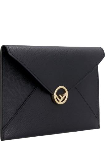 Fendi Leather Flat Pouch