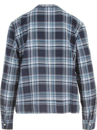 Aspesi Guru Neck Shirt W/rouches