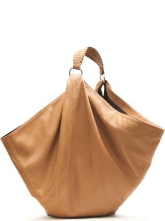 Ash Cinnamon Leather Mandy Handbag