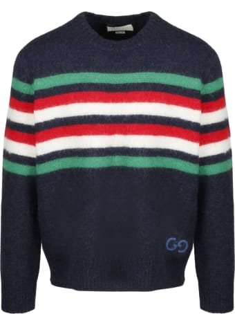 Gucci Gg Striped Pullover