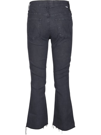 Mother Jeans The Insider Crop Step Fray