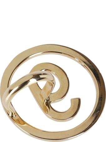 MM6 Maison Margiela Gold Brass Ring