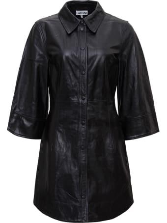 Ganni Leather Dress