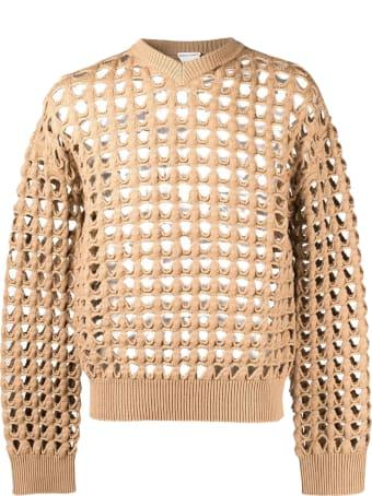 Bottega Veneta Pullover Open Mesh Wool