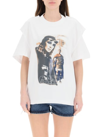 Y/Project Convertible Printed T-shirt