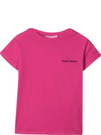Chiara Ferragni Fuchsia T-shirt