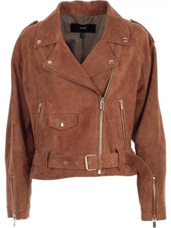 ARMA Jacket Leather Suede