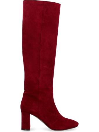 L'Autre Chose Suede Knee-boots
