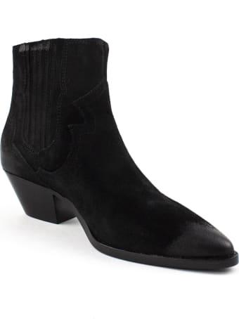 Ash Black Falcon Ankle Boots