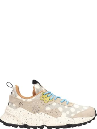 Flower Mountain Kotetsu Sneakers In Grey Tech/synthetic