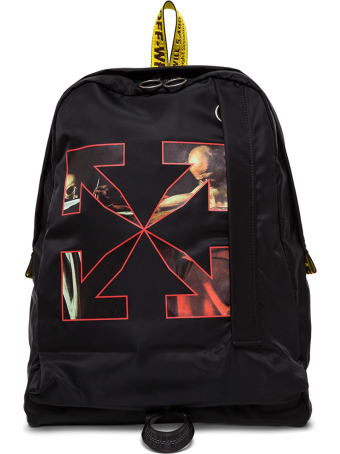 Off-White Caravaggio Backpack In Black Nylon