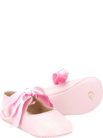 Gallucci Pink Ballet Flats
