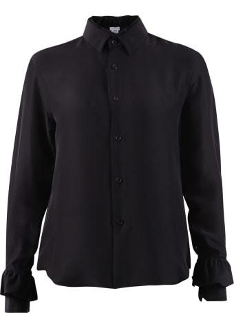Noir Kei Ninomiya Ruched Shirt