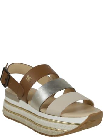 Hogan High Platform Sandals