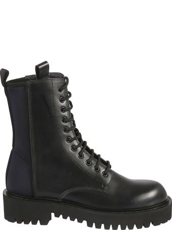 Valentino Garavani Side Zip Combat Boots