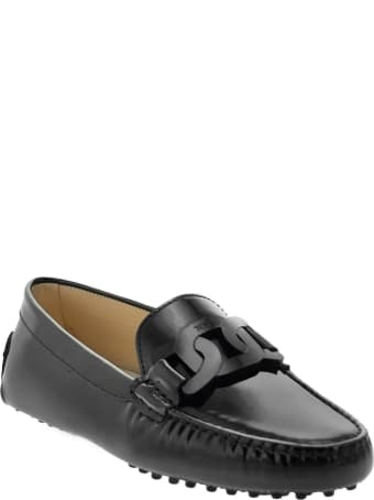 Tod's Gommino Moccasin In Patent Leather