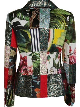 Dolce & Gabbana All-over Printed Blazer