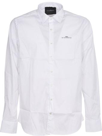 John Richmond White Shirt With Logo