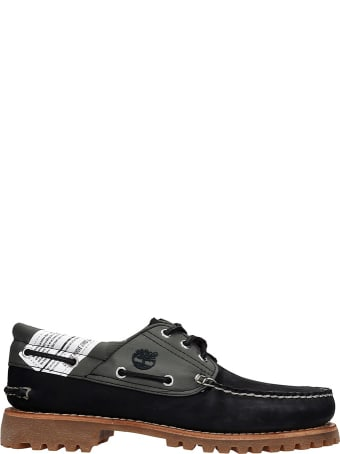 Timberland Authentics Loafers In Black Nubuck