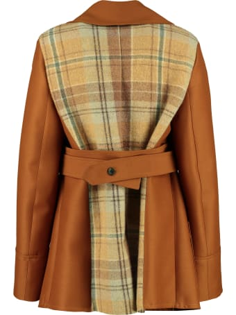 Lanvin Wool And Silk Double-breasted Jacket