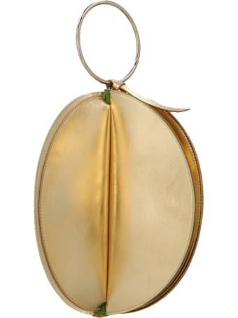 Sara Battaglia 'plissè Bracelet' Bag