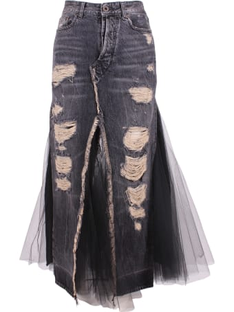 Ben Taverniti Unravel Project Unravel Project Cotton Skirt