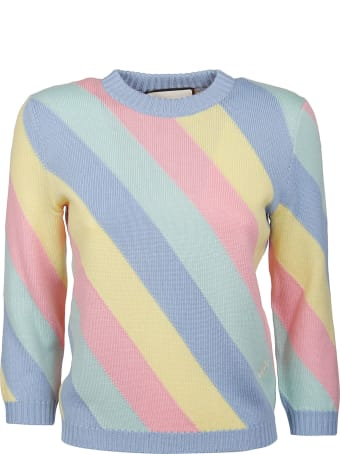Gucci Ribbed Stripe Sweater