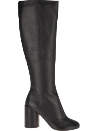 MM6 Maison Margiela Mm6 Knee-high Boots