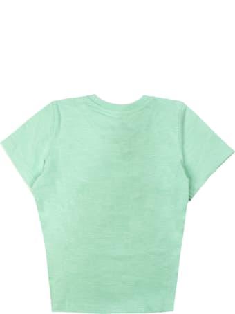 Kenzo Green Cotton T-shirt