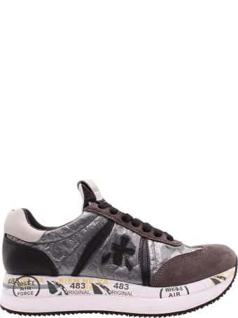 Premiata 'conny 1493' Leather Sneakers