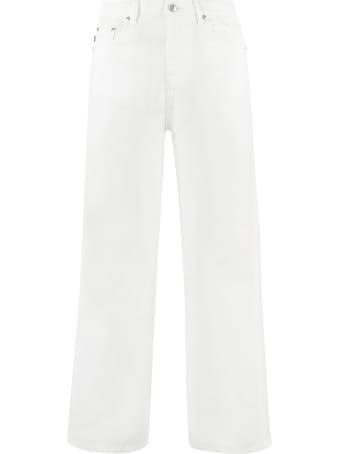MSGM High-waist Culotte Jeans