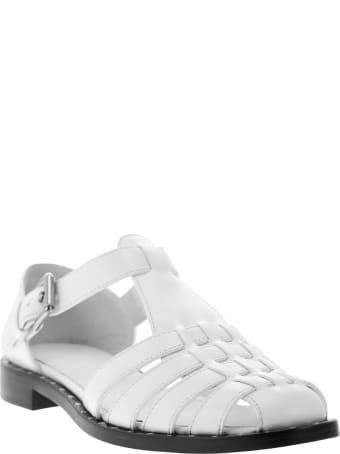 Church's Kelsey Met Calf Leather Sandal