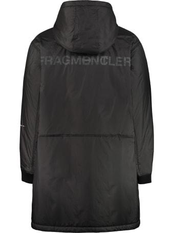 Moncler Bastonx Hooded Long Down Jacket