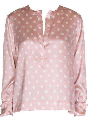 Kaos Kaos Pink Silk Blouse
