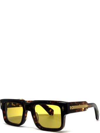 Jacques Marie Mage HEMMINGS,DARK HAVANA,OLIVE CR3 Sunglasses