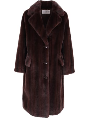 STAND STUDIO 'theresa' Polyester Coat