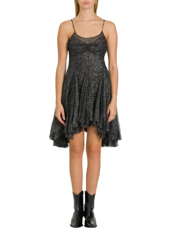 Philosophy di Lorenzo Serafini Pleated Lurex Dress