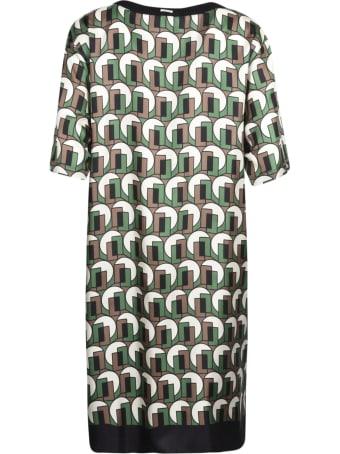 Max Mara The Cube T-shirt Printed Dress